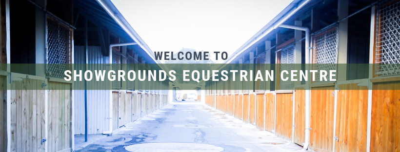 "Showgrounds Equestrian Centre - ""No hour of life spent in the saddle is wasted"""